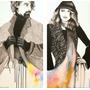 Cuadro 70 X 70 Cm.pintura Original.pareja, Unión De Colores