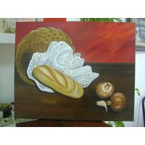 Cuadro Pintado Al Oleo * Deco * Hogar * Cocina *