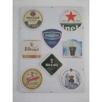 Cuadro 8 Posavasos De Cerveza Europeos!