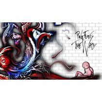 Pink Floyd Bastidor En Tela Canvas 90x50 Cm Exelente Calidad