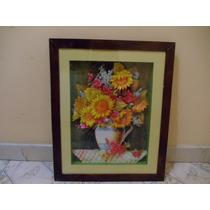 Cuadro - Arte Francés - Flores .