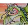 Cuadro Juvenil Moderno Dragon