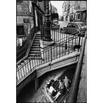 Willy Ronis Paris En Papel Foto De 90x60 Cm-exelente Calidad