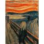 El Grito Edvard Munch Bastidor En Canvas 90 X 70 -envio S/c