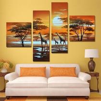 Cuadros Pinturas Trípticos Cuatrípticos Reflejos Africano