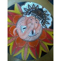 Mandalas Ganesha Elefante Hindu-shiva Y Shakti- Con Apliques