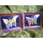 Cuadritos De Mariposas Artesanal