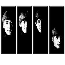 Cuadros The Beatles 4 Partes Completo Imperdible