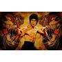 Bruce Lee Dragon En Bastidor De 70x40 Cm Exelente Calidad