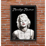 Cuadro Decorativo Marilyn Monroe 30x42cm Lamina