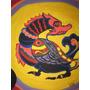 Cuadro Oleo A Mano Dragon Dibujo Oriental Colorido