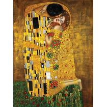 El Beso Klimt Canvas Bastidor De 120x80 Cm Exelente Calidad