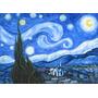 Noche Estrellada Copia Van Gogh Oleo Enmarcado Firma Filippo