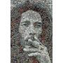 Cuadro Bob Marley Con Marco De 4,5 Cm Patinados!