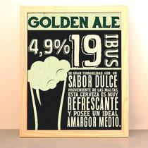 Cuadro Moderno Decoracion Cerveza Beer Bar