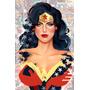 Cuadros Ladies Dc Comics Wonder Catwoman Batgirl Arlequin
