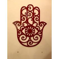 Mano Hamsa - Imágenes Metálicas Para Decoración Interior