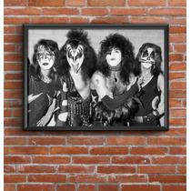 Cuadro Decorativo Kiss 30x42cm Lamina Poster