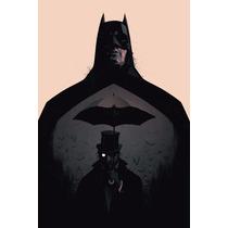 Cuadros Minimalistas Batman Dark Knight Gotham Joker Gordon