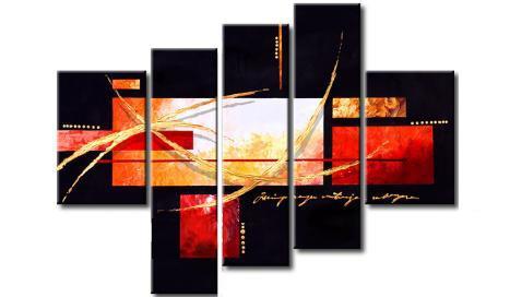 Polipticos abstractos imagui - Triptico cuadros modernos ...