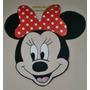 2 Carteles Minnie Aplique Goma Eva De 23 Cm Figuras