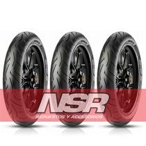 Cubierta 110 70 17 Pirelli Diablo Rosso 2 Nsr Motos