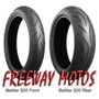 Cubierta Bridgestone 120/ 70 X 17 Battlax S20 Freeway Motos