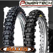 Cubierta Moto Cross Maxxis 90/100-21 M7304 Powertech