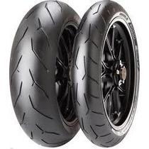 Juego Cubiertas Pirelli Diablo Rosso 2 Yamaha Fz 16