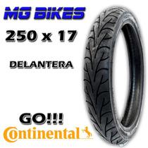 Cubierta Continental 250 X 17 Delanter Yamaha Honda Mg Bikes