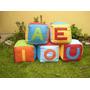 Cubos Didácticos-para Bebés-sala Blanda-bebés-10 Cm