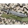Cuchillo Yarara Comando Hoja De 24 Cm Acero Sae 6150