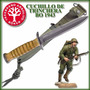 Cuchillo De Trinchera Boker Usm3 Con Funda-local Microcentro