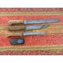 Lote De 3 Antiguos Cuchillos Fiambreros (carneadas Boliche)