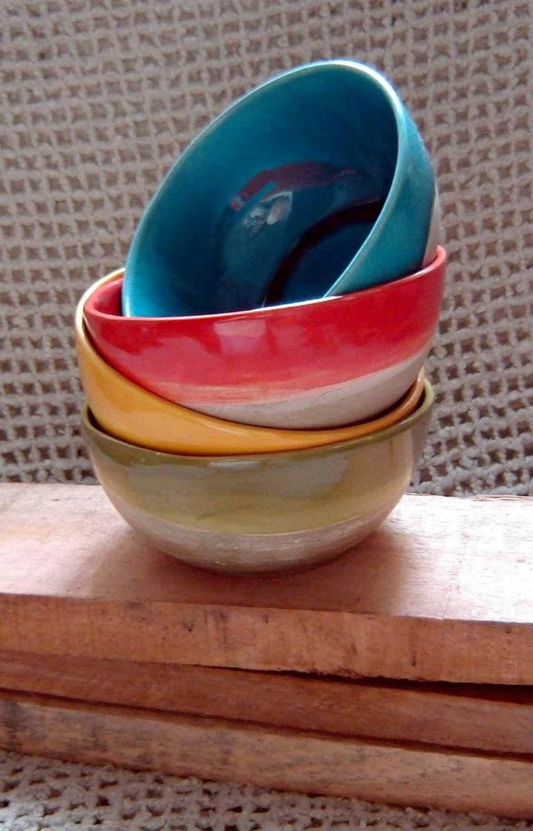 Cuencos de cer mica artesanal - Vajilla ceramica artesanal ...