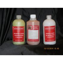 Alisado Definitivo X 500 Ml + Shampoo X 500 Ml + Crema X 500