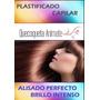 Plastificado+shampoo Neutro 500ml+combo Post Alisado 500ml