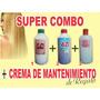 Combo Alisado500c+shok Keratina500c+crema Queratinica500$170