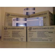 Guantes De Latex Descartables Talle S.m.l Cajon (1000u)