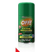 Off! Extra Duración - Aerosol Repelente De Mosquitos X 138g