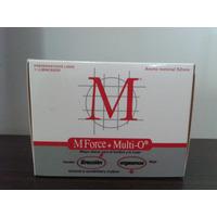 Preservativos M Force + Multi O, 10 Cajas Con 3 Unidades C/u
