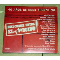 Indio Solari Dargelos 40 Años De Rock Argentino 2 Cd Nuevo
