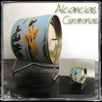 Souvenirs 10 Alcancias Giratorias Personalizadas