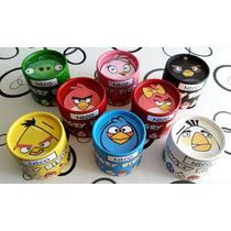 Angry Birds - Souvenir Alcancia Golosinera 8,5 X 8,5 Cm.