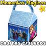 10 Cajitas Frozen Disney Valijita Golosinera + 7 Juegos