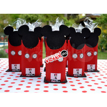 Golosineros De Mickey Y Minnie Mouse