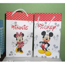 10 Bolsitas Mickey Y Minie