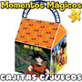 10 Cajita Souvenirs Dragon Ball Z Goku Golosinera + 7 Juegos