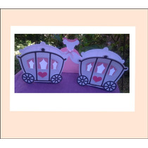 Cajita-bolsita - Carrozas Para Cumple Princesas Souvenirs