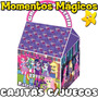10 Cajita Souvenir Equestria Girls My Little Pony + 7 Juegos